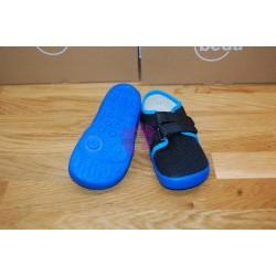 Beda barefoot Bobby vycházková obuv na suchý zip, podrážka