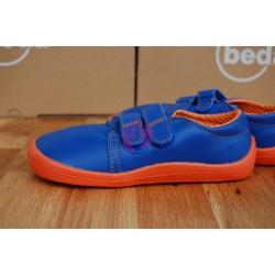 Beda barefoot Blue Mandarine kožené nízké