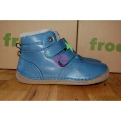 Zimní Froddo flexible Denim - kožešina, G2110069-K
