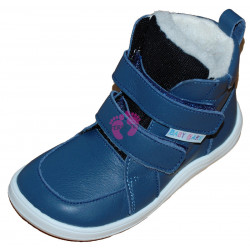 51fe593328f Baby Bare Shoes FEBO WINTER Navy