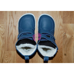 Baby Bare Shoes FEBO WINTER Navy