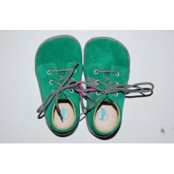 Beda barefoot Sam, zelené na tkaničky