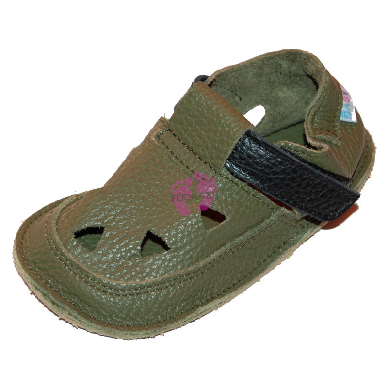 Baby Bare Shoes Bosco Top Stitch