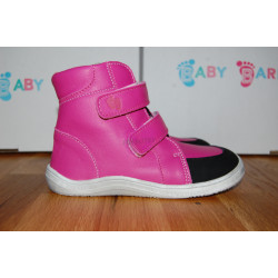 Baby Bare Shoes FEBO WINTER Fuchsia okop