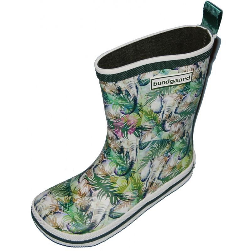 Dětské holínky bez zateplení Bundgaard Classic Rubber Boots Jungle Elephant