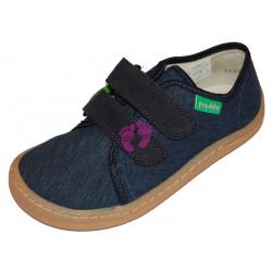 Froddo Barefoot tenisky  - plátěné Dark Blue G1700270-2