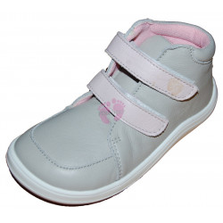 Baby Bare Shoes FEBO FALL GREY PINK