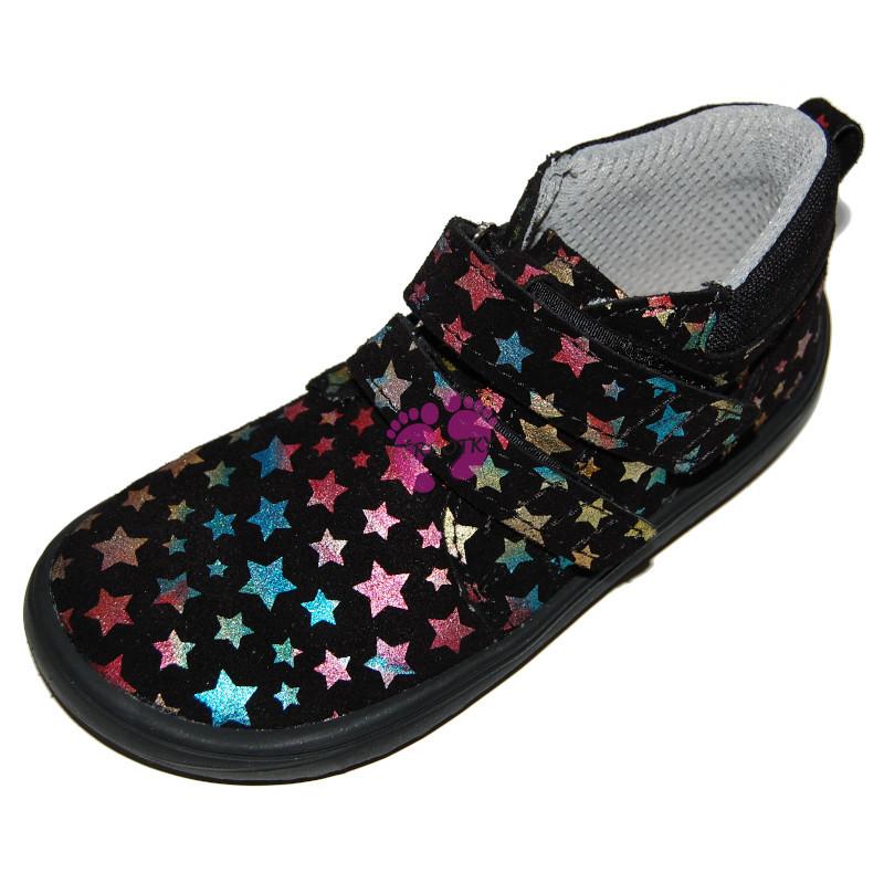 Dětské barefoot boty Be Lenka Play - Twinkle Black