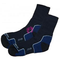 Surtex 95% merino ponožky pro dospělé volný lem