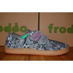 Froddo Barefoot tenisky - plátěné Grey G1700283-7