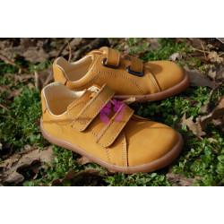Baby Bare Shoes Febo Spring Mustard Nubuk