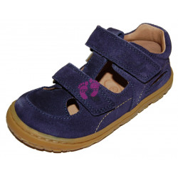 Lurchi barefoot sandále NANDO Azul (modré)