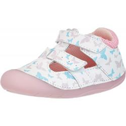 Lurchi Fioli White barefoot sandálky