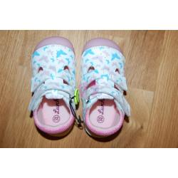 Lurchi White barefoot sandálky