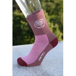 Surtex 80% merino dětské Aerobic ponožky fialové