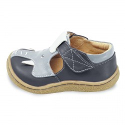 Livie and Luca Elephant Gray - Leather