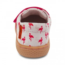 Livie and Luca Peppy Flamingo - Sunprint Textile