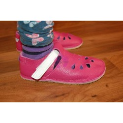 Baby Bare Shoes Waterlily na noze